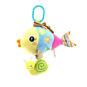 Мягкая музыкальная подвеска Рыбка (код товара: 43565): купить в Berni
