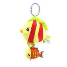 Мягкая музыкальная подвеска Рыбка оптом (код товара: 43566)