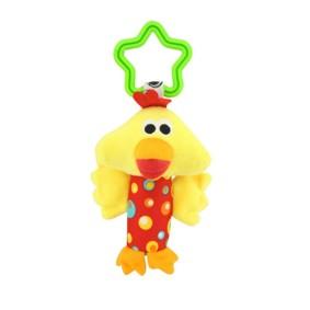 Мягкая подвеска - погремушка Цыпленок оптом (код товара: 43534): купить в Berni