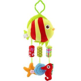 Мягкая подвеска - погремушка Рыбка (код товара: 43551): купить в Berni