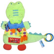 Мягкая развивающая игрушка Крокодил (код товара: 43595)