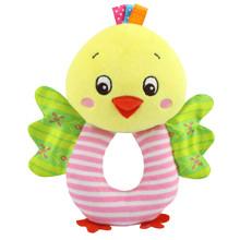 М'яка іграшка - брязкальце Курча (код товара: 43571)