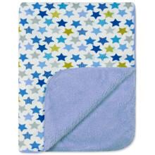 Детский флисовый плед Звезды оптом (код товара: 43646)