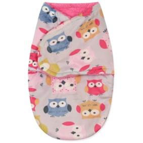 Флисовая пеленка - кокон на липучках (код товара: 43685): купить в Berni