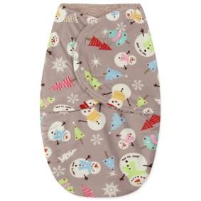 Флисовая пеленка - кокон на липучках (код товара: 43689): купить в Berni