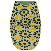 Флисовая пеленка - кокон на липучках Подсолнух оптом (код товара: 43695)