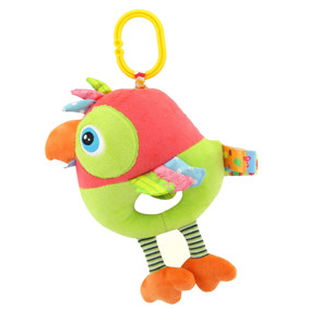 Мягкая музыкальная подвеска Попугай оптом (код товара: 43601): купить в Berni