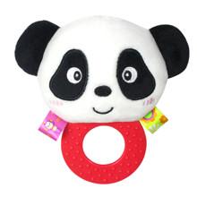 Мягкая погремушка - прорезыватель Панда (код товара: 43609)