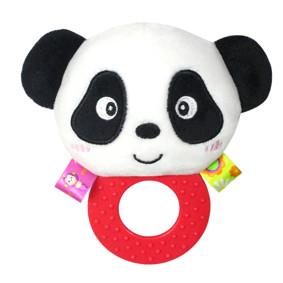 Мягкая погремушка - прорезыватель Панда (код товара: 43609): купить в Berni