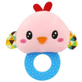 Мягкая погремушка - прорезыватель Птичка (код товара: 43611): купить в Berni