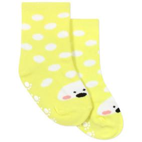 Детские антискользящие носки Горошек оптом (код товара: 43766): купить в Berni