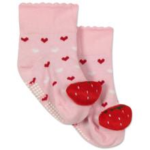 Детские антискользящие носки Клубника оптом (код товара: 43780)