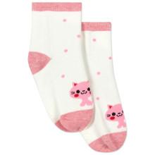 Детские антискользящие носки Кошка оптом (код товара: 43768)