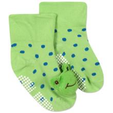 Детские антискользящие носки Лягушка оптом (код товара: 43777)