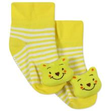 Детские антискользящие носки Медведь оптом (код товара: 43778)
