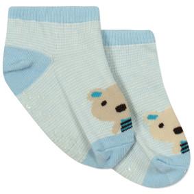 Детские антискользящие носки Милый мишка оптом (код товара: 43763): купить в Berni