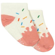 Детские антискользящие носки Мороженое оптом (код товара: 43736)