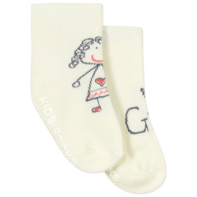 Детские антискользящие носки с начесом Девочка (код товара: 43740): купить в Berni