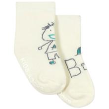Детские антискользящие носки с начесом Мальчик (код товара: 43739)