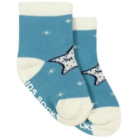 Детские антискользящие носки с начесом Звездочка оптом (код товара: 43742): купить в Berni