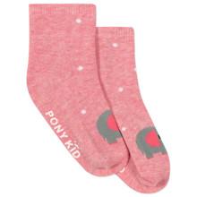 Детские антискользящие носки Слон оптом (код товара: 43767)