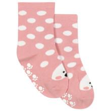 Дитячі антиковзні шкарпетки Горошок оптом (код товара: 43765)