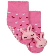 Дитячі антиковзні шкарпетки Кролик оптом (код товара: 43776)