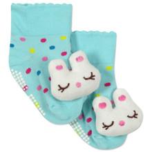 Дитячі антиковзні шкарпетки Кролик оптом (код товара: 43779)