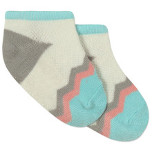 Дитячі антиковзні шкарпетки Зигзаг оптом (код товара: 43728)