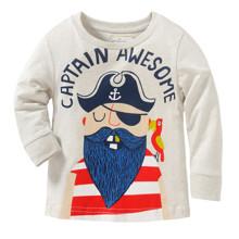 Лонгслів для хлопчика Дивовижний Капітан оптом (код товара: 43790)