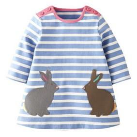 Платье для девочки Кролик (код товара: 43784): купить в Berni