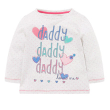 Кофта для дівчинки Тато любить мене оптом (код товара: 43827)
