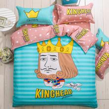 Комплект постельного белья Король (полуторный) оптом (код товара: 43864)