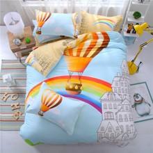 Комплект постельного белья Воздушный шар (полуторный) оптом (код товара: 43875)