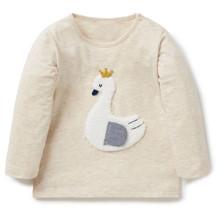 Лонгслив для девочки Лебедь (код товара: 43831)