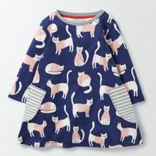 Платье для девочки Кошки (код товара: 43836)