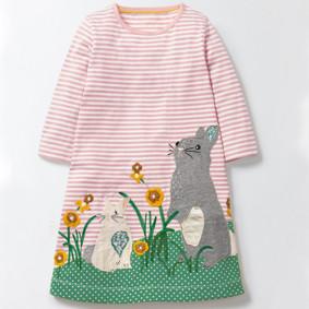 Платье для девочки Кролик (код товара: 43808): купить в Berni