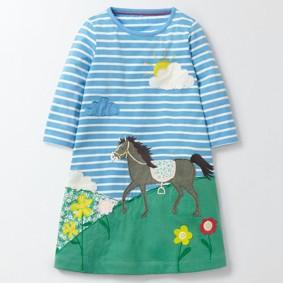 Платье для девочки Лошадка (код товара: 43809): купить в Berni