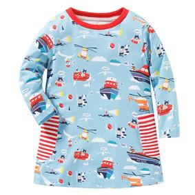 Платье для девочки Морское приключение (код товара: 43837): купить в Berni