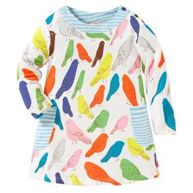 Платье для девочки Птицы (код товара: 43826): купить в Berni
