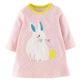 Платье для девочки Заяц (код товара: 43834): купить в Berni