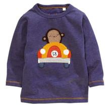 Світшот для хлопчика Мавпа гонщик оптом (код товара: 43804)