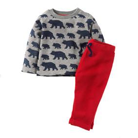 Костюм 2 в 1 для мальчика Медведь оптом (код товара: 43918): купить в Berni