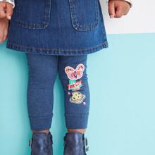 Легінси для дівчинки Нью - Йорк оптом (код товара: 43936)