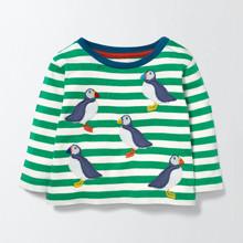 Лонгслів для хлопчика Пінгвін оптом (код товара: 43945)