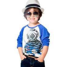 Лонгслів для хлопчика Восьминіг оптом (код товара: 43904)