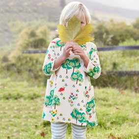 Платье для девочки Цветущая поляна (код товара: 43954): купить в Berni