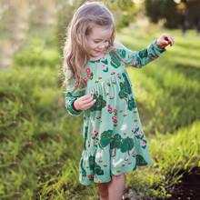 Платье для девочки Цветущая поляна оптом (код товара: 43970)
