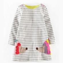 Платье для девочки Ежик (код товара: 43983)