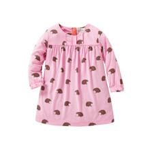 Платье для девочки Ежик (код товара: 43992)